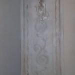 Colonna decorata