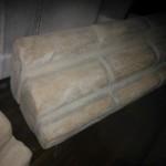 Cornicione in polistirolo rivestito in finti mattoni