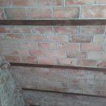 Pannelli di polistirolo curvi effetto tavelle antiche