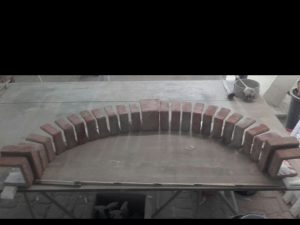Moduli a U di polistirolo per rivestimento arco