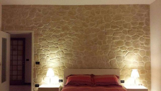 Finti mattoni sassi pietre