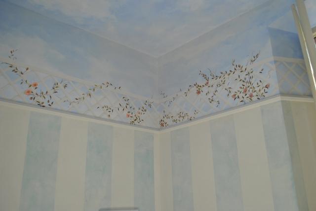 Decorazioni murali - Decorazioni stencil murali ...