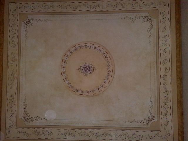 Soffitti decorati antichi for Decorazioni murali