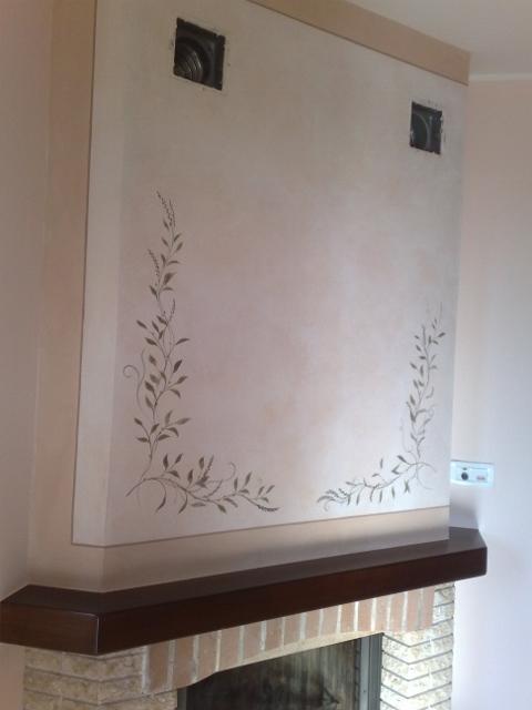 Decorazioni murali - Decorazioni camino ...